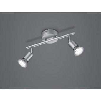 Reality Paris Ceiling Light titanium , 2-light sources