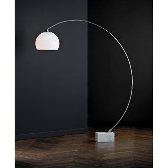 Paul Neuhaus MANI floor lamp stainless steel, 1-light source