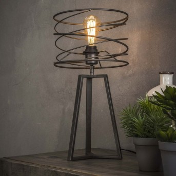 LAGHALERVEEN Table Lamp anthracite, 1-light source
