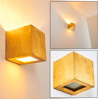 NOTO Wall Light gold, 1-light source