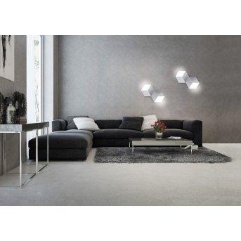 Grossmann GEO Wall and Ceiling light LED aluminium, 2-light sources