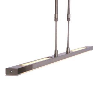 Steinhauer ZELENA Pendant Light LED stainless steel, 3-light sources