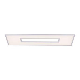 Leuchten-Direkt RECESS Ceiling Light LED white, 2-light sources, Remote control, Colour changer