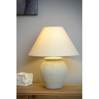 Lucide RAMZI Table Lamp beige, 1-light source