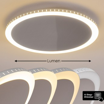 AITRACH Ceiling Light LED silver, white, 1-light source