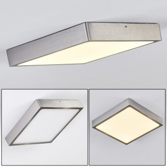 Broglen Ceiling Light LED matt nickel, 1-light source