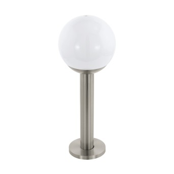 Eglo Connect NISIA pedestal light LED stainless steel, 1-light source