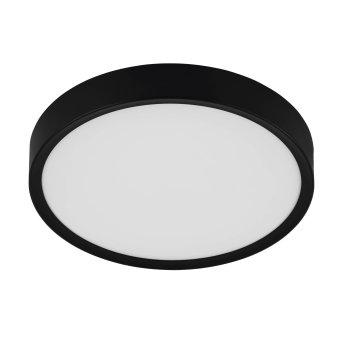 Eglo MUSURITA Ceiling Light LED black, 1-light source