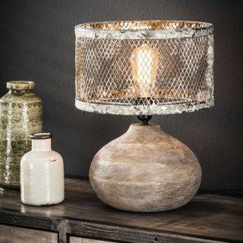 SCHILDWOLDE Table Lamp rust-coloured, 1-light source