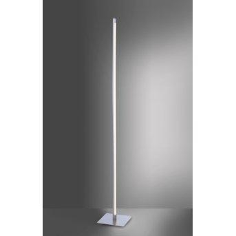 Leuchten-Direkt BELLA Floor Lamp LED stainless steel, 1-light source