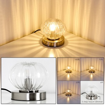 EDANE Table Lamp LED matt nickel, 1-light source