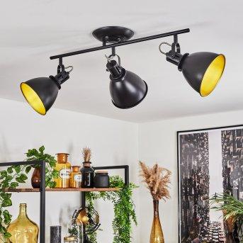 Ceiling Light Koppom black, 3-light sources