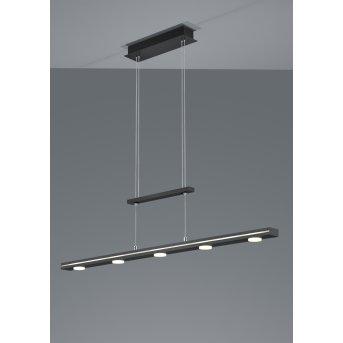 Trio LACAL Pendant Light LED matt nickel, 7-light sources
