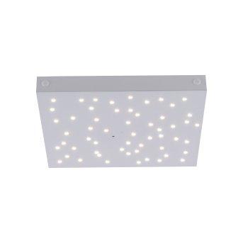 Leuchten Direkt LS-STARS Ceiling Light LED white, 1-light source, Remote control, Colour changer