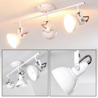 TINA ceiling light white, 3-light sources