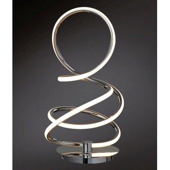 Wofi SOLLER table lamp LED chrome, 1-light source