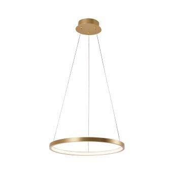 Pendant Light Leuchten Direkt CIRCLE LED gold, 1-light source