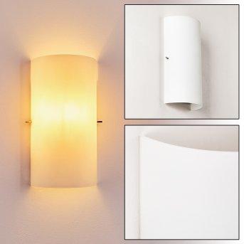 MODICA Wall Light white, 1-light source