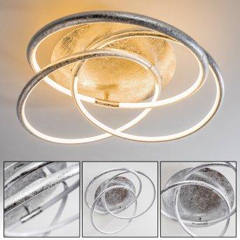 Glen Ceiling Light LED silver, 1-light source