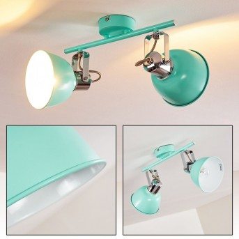 DOMPIERRE Ceiling light green , white, 2-light sources