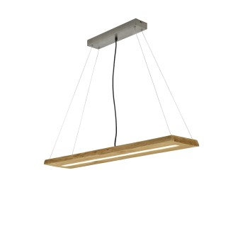 Trio BRAD Pendant Light LED Light wood, 1-light source