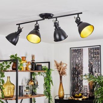 Ceiling Light Koppom black, 4-light sources