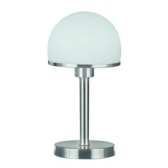 Trio 5922 table lamp matt nickel, stainless steel, 1-light source