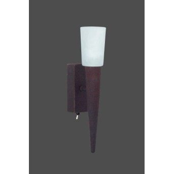 Trio 2160 wall light rust-coloured, brown, 1-light source