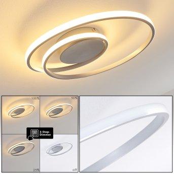 Leksund Ceiling Light LED silver, 1-light source