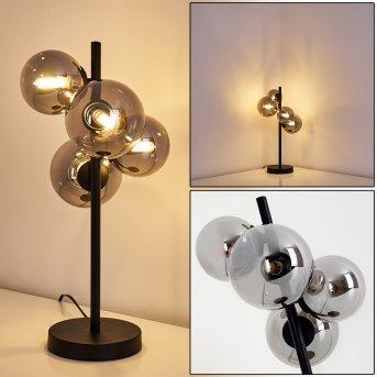 Chehalis Table lamp LED black, 4-light sources