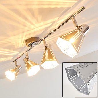 VANTAA ceiling light chrome, 4-light sources