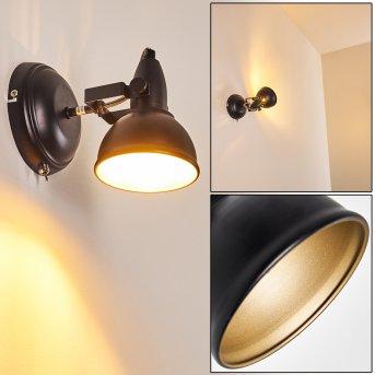 Tina Wall Light black, 1-light source