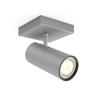 Philips HUE AMBIANCE WHITE BURATTO Spotlight, extension silver, 1-light source