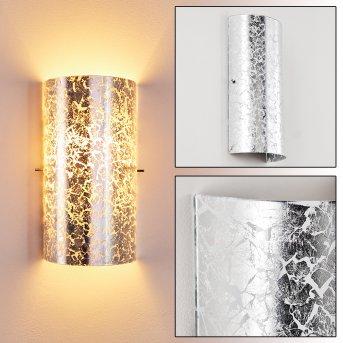 MODICA Wall Light silver, 1-light source