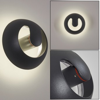 NYBORG Outdoor Wall Light LED anthracite, 1-light source