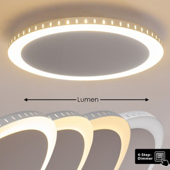 AITRACH Ceiling Light LED silver, 1-light source