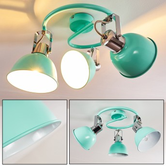 DOMPIERRE Ceiling light green , white, 3-light sources