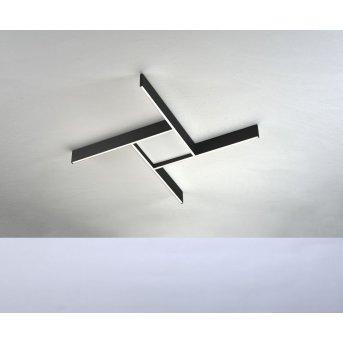 Bopp NANO PLUS COMFORT Ceiling Light LED black, white, 1-light source