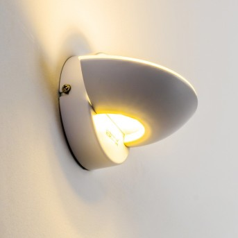 Dominical wall light LED white, 2-light sources
