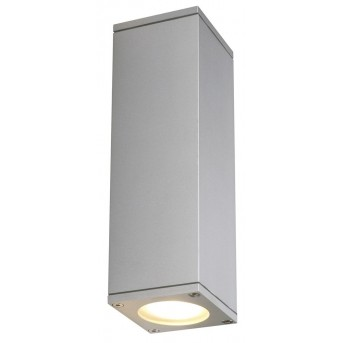 Outdoor Wall Light SLV THEO grey, silver, 2-light sources
