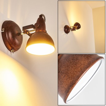 Tina Wall Light rust-coloured, 1-light source