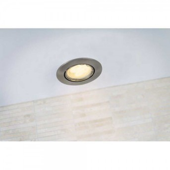 Nordlux MIXIT recessed light stainless steel, 1-light source
