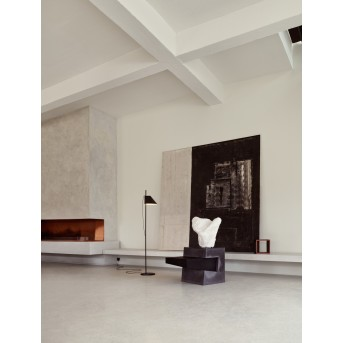 Louis Poulsen YUH Floor Lamp LED anthracite, 1-light source