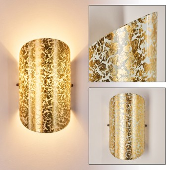 TERAMO Wall Light white, 1-light source