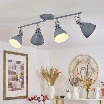 KOPPOM ceiling light blue, grey, 4-light sources