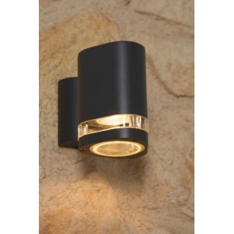 Orion outdoor wall light black