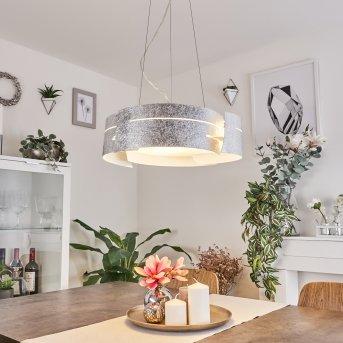 Novara hanging light silver, 3-light sources