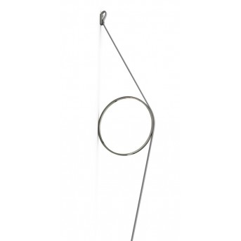 FLOS WIRERING Wall Light LED grey, 1-light source
