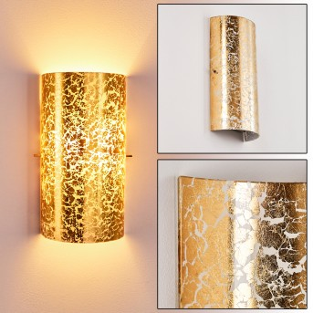 MODICA Wall Light gold, 1-light source