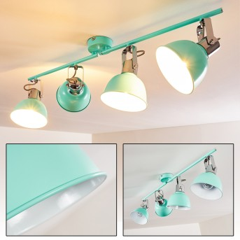 DOMPIERRE Ceiling light green , white, 4-light sources